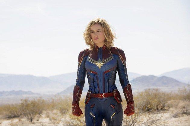 Captain Marvel, une super-héroïne flambloyante