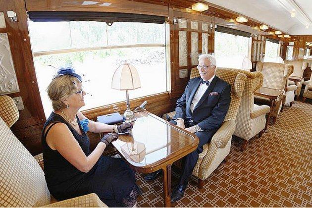 Montez à bord de l'Orient express entre Rouen et Dieppe !