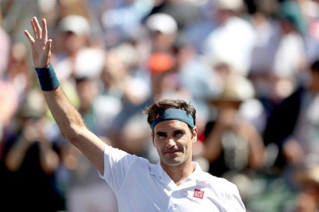 Tennis: Roger Federer fonce en demi-finales à Indian Wells