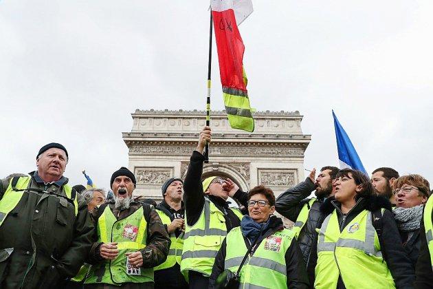 """Acte 18: les gilets jaunes misent sur un """"regain de mobilisation"""" pour leur """"ultimatum"""""""