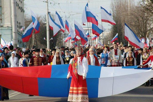 La Russie fête les cinq ans de l'annexion de la Crimée