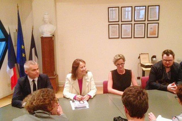 À Canteleu, Ségolène Royal vient partager son expérience avec le public