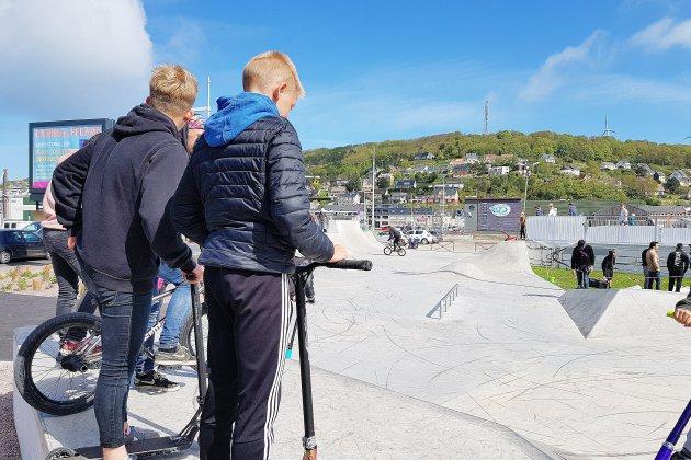 Le skatepark de Fécamp en maintenance