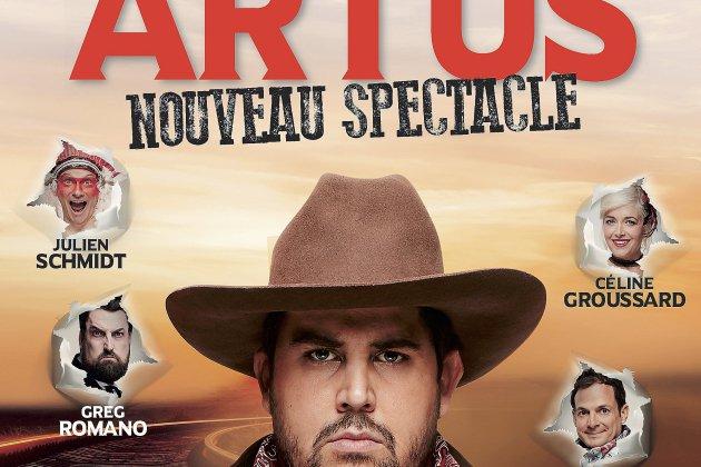 Un spectacle déjanté avec Artus à voir àPort Jérôme sur Seine le 28 mars !