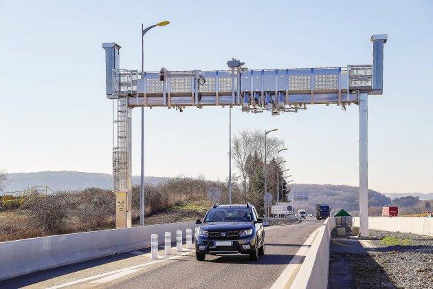 Péage 100 % sans barrière : premier testavant un développement en Normandie