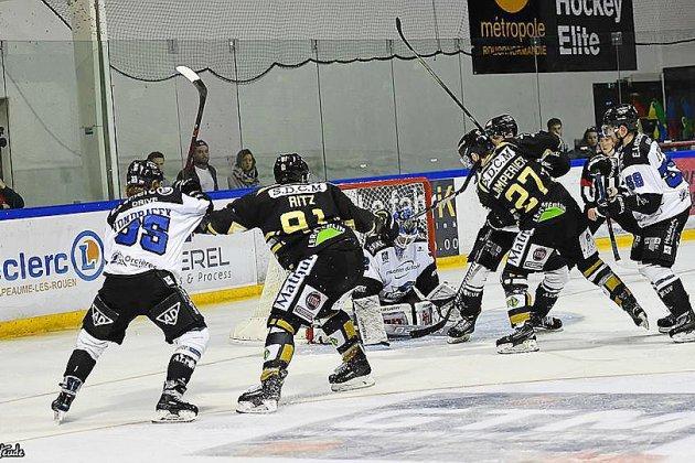 Hockey sur glace : Rouen tentera la qualification en finale à domicile