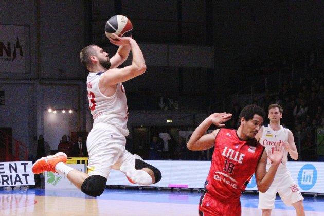 Basket (Pro B) :Caen encore trop courtcontre Lille