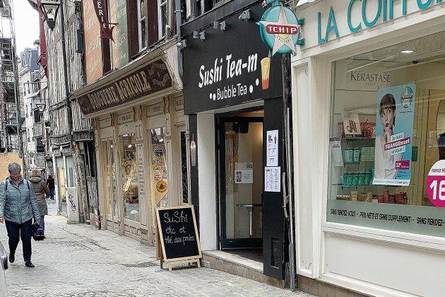 Bonne table à Rouen : Sushi tea-m, près de la place du Vieux-Marché