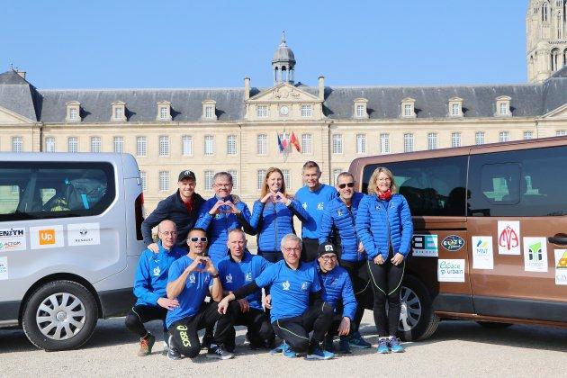 Défi sportif de 800 kilomètres pour des agents de Caen La Mer