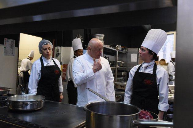 Thierry Marx ouvre son école de cuisine à Fécamp