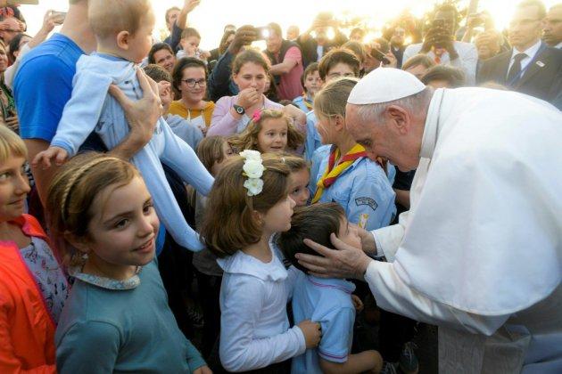 Le pape à la rencontre de la petite communauté catholique du Maroc