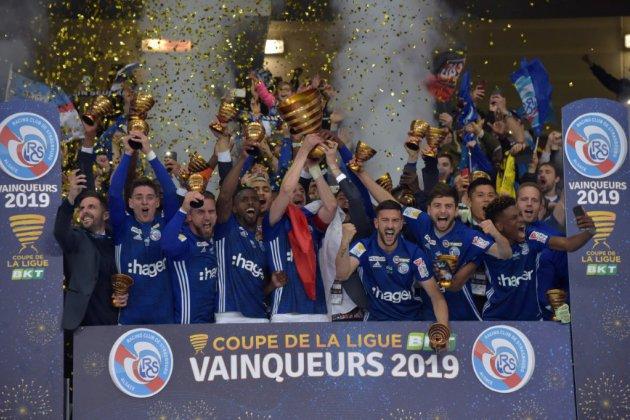 Coupe de la Ligue: après la victoire, Strasbourg attend ses héros