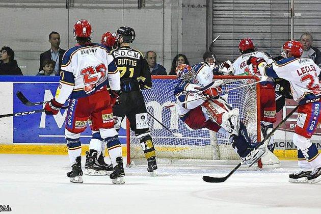 Hockey sur glace : les Dragons de Rouen déjà presque dos au mur