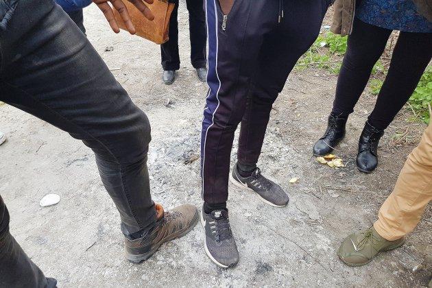 Migrants à Ouistreham : une cohabitation de plus en plus glaciale