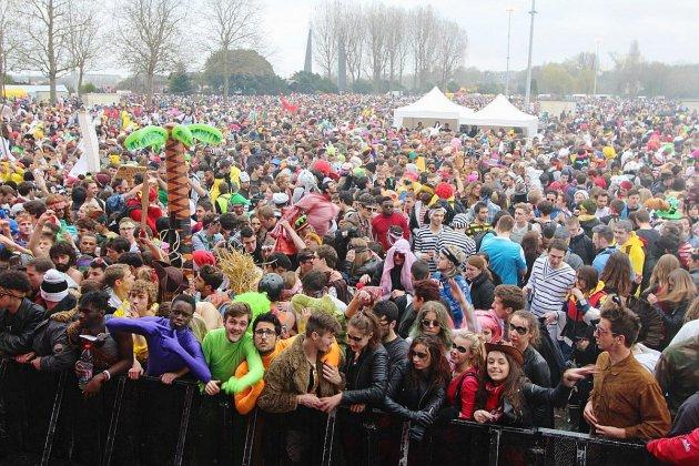 Carnaval étudiant de Caen : comment circuler ?