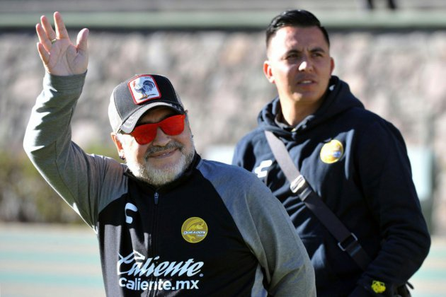 Maradona sous le coup d'une sanction pour avoir soutenu Maduro