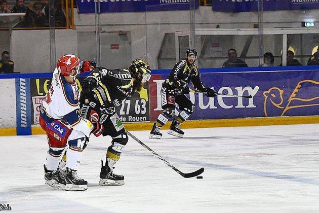 Hockey sur glace : les Dragons effacent leur retard face à Grenoble