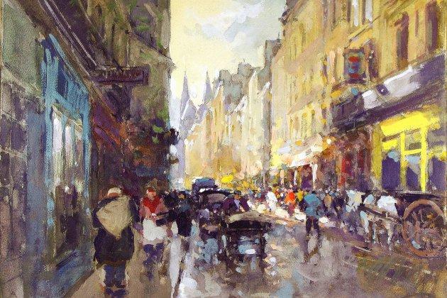 Exposition : Caen, vue par les artistes du XIXe siècle à la Reconstruction