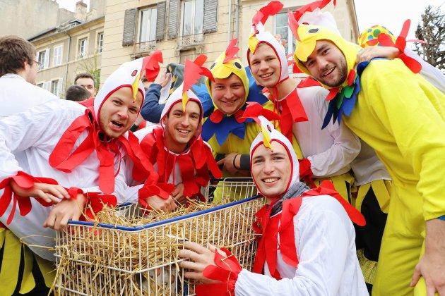 [En images] - Retrouvez les plus beaux clichés du Carnaval de Caen