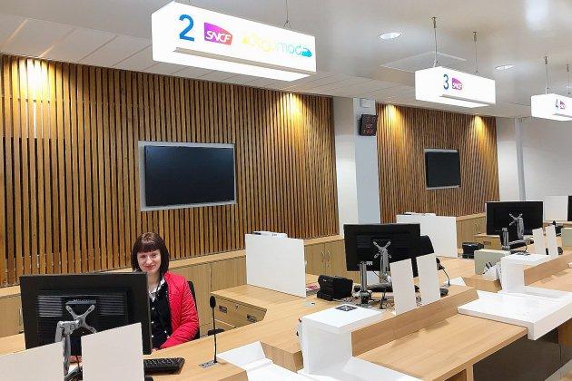 Le nouvel espace de vente de la gare SNCF de Rouen est ouvert