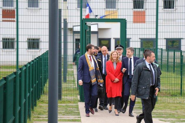 Attaque terroriste: la Ministre de la Justice revient à Condé/Sarthe