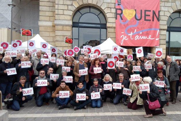 """Les """"pisseurs involontaires"""" de Rouen : tous positifs au glyphosate"""