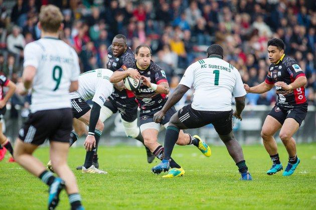 Rugby (Fédérale 1) : Les Lions de Rouen continuent en tête