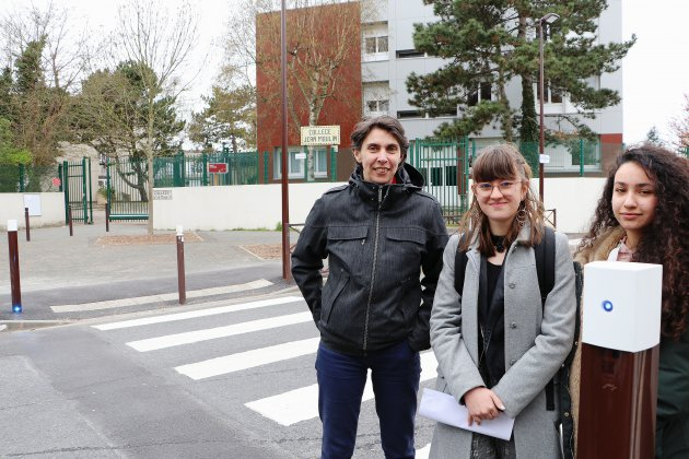 Passage piéton sécurisé : le projet de collégiennes du Havre concrétisé
