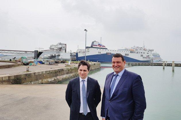Un nouveau patron au port du Havre