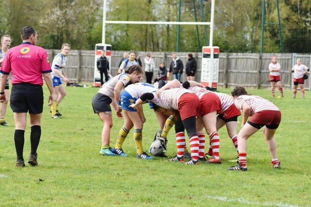 Alençon: finale Grand Ouest de rugby féminin à 10