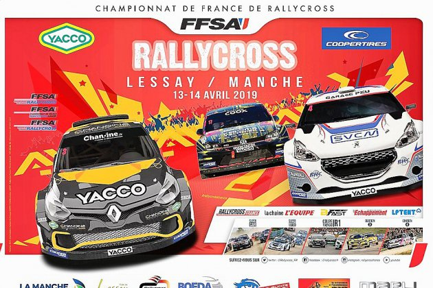 Le championnat de France de Rallycross commence ce week-end à Lessay!