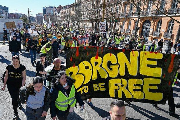 """""""Gilets jaunes"""": Toulouse """"capitale"""" d'un acte 22 sous le coup de la loi anticasseurs"""
