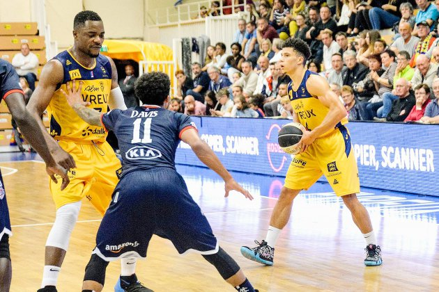 Basket (Pro B) : Evreux trop juste face à Poitiers