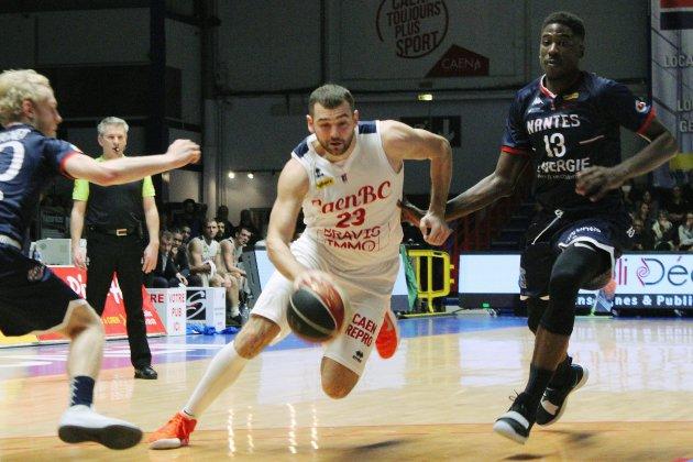 Basket (Pro B) : Caen n'a pas tenu la distance à Saint-Chamond