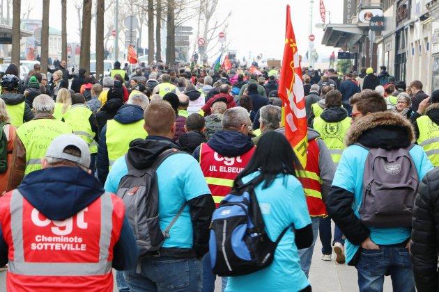 Gilets jaunes, Acte XXII : Le Havre au cœur de la mobilisation