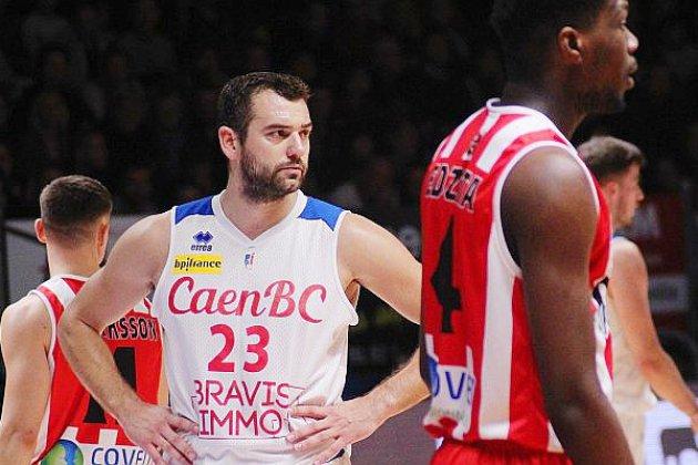 Basket : Pavel Marinov blessé au genou, Caen perd gros