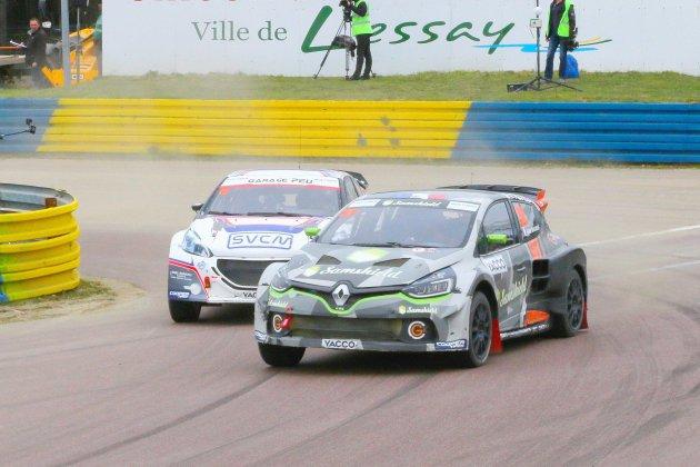 Rallycross : Philippe Maloigne (Clio) s'impose à Lessay en ouverture du championnat de France !