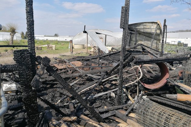 Incendie à Lisieux : gros dégâts au jardin d'insertion Vit'actif