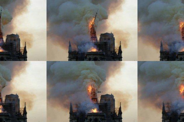 """""""Paris est défiguré!"""" le choc et les larmes devant Notre-Dame en flammes"""