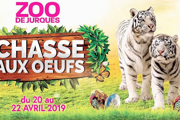 Grande chasse aux œufs au Zoo de Jurques pour ce weekend de Pâques 2019