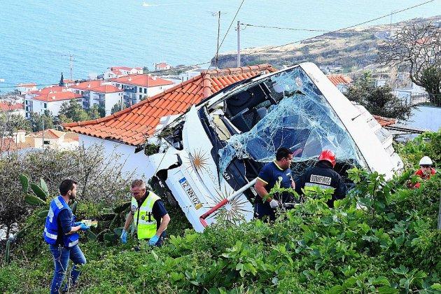 Madère: 28 touristes allemands tués dans un accident de bus