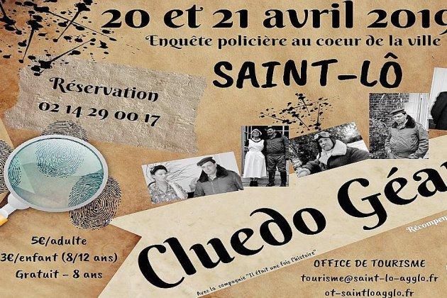 Menez l'enquête dans le Saint Lô de l'après-guerre pour ce week-end de Pâques!