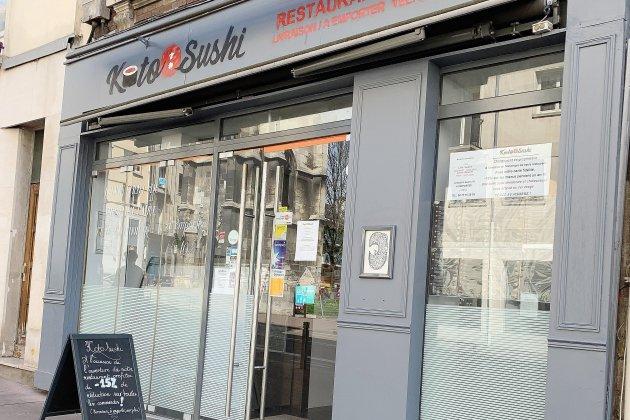 Bonne table à Rouen : Koto sushi, rue Jeanne d'Arc