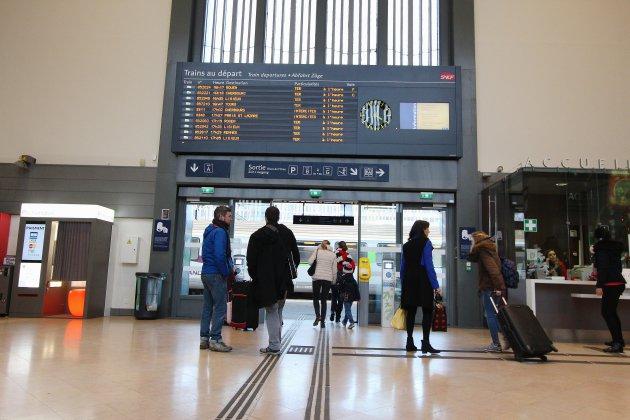 Un bagage abandonnéperturbe le trafic en gare de Caen