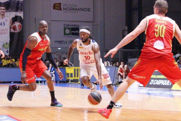 Basket (Pro B) : Caen plonge un peu plus dans la crise