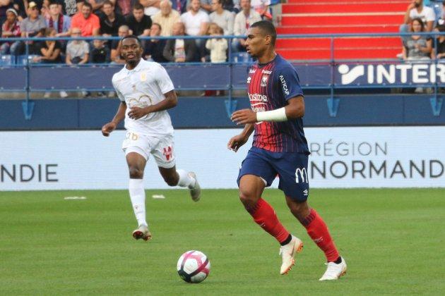 Football (Ligue 1) : A Nice, Caen prouve qu'il est toujours bien vivant !