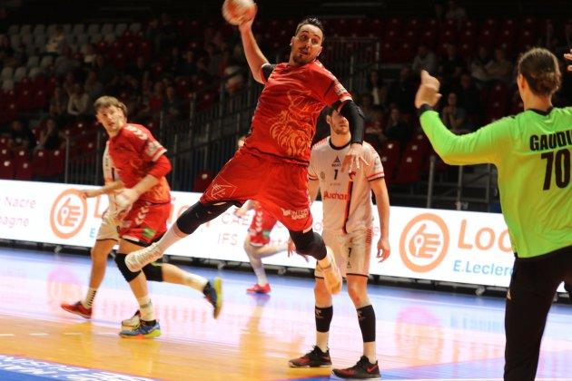 Handball (Proligue): Le dernier quart d'heure encore fatal pour Caen