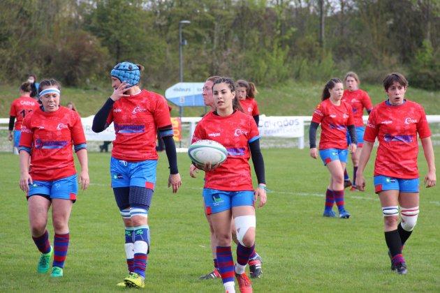 Rugby (Elite 1 F) : L'ovalie Caennaise s'incline logiquement face à Bobigny
