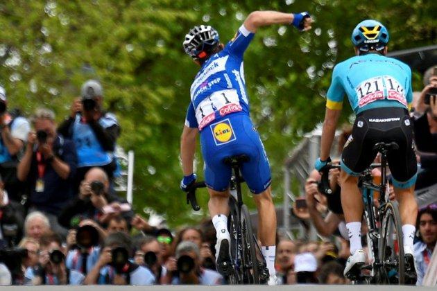Flèche Wallonne: deuxième victoire d'Alaphilippe