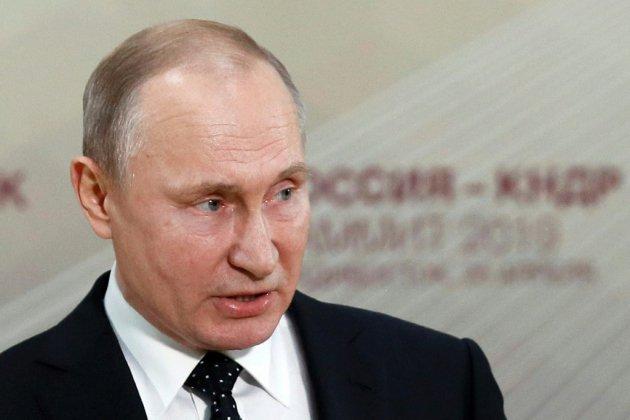 """Poutine prêt à """"rétablir complètement"""" les relations avec l'Ukraine"""